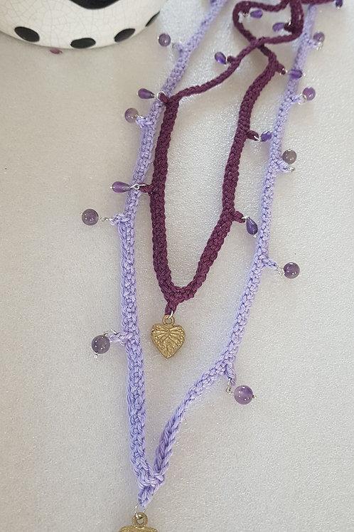 Seelenflüsterin - AMETHYST - violette Strahl