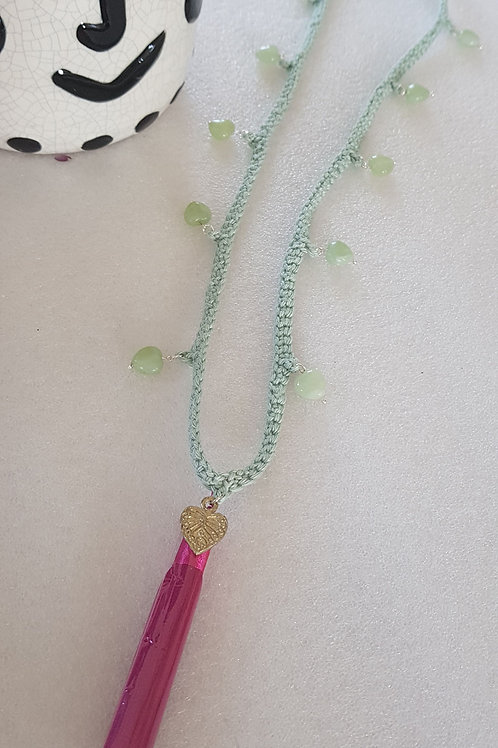 Seelenflüsterin - JADE - smaragdgrüne Strahl