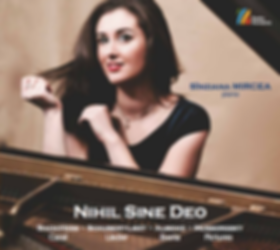 Sinziana Mircea Nihil Sine Deo CD