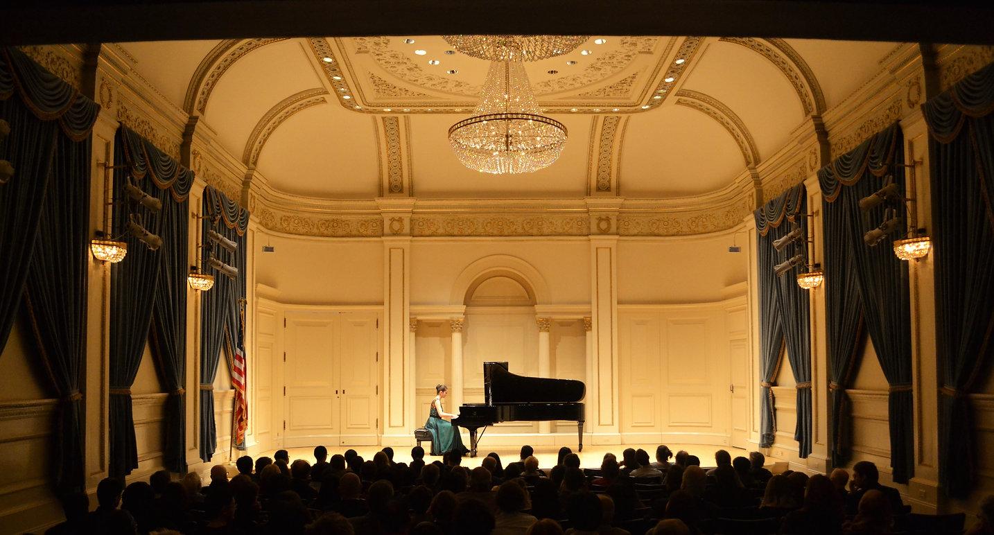 Sinziana Mircea Carnegie Hall