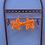 Thumbnail: UV Reactive Crochet Star Earrings