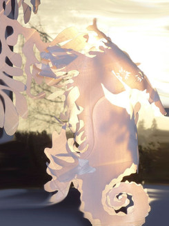 Sunlight seahorse