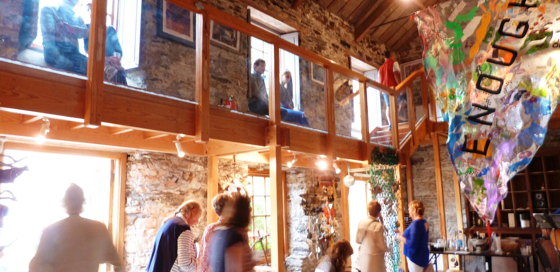 Boatyard exhibition Bantry