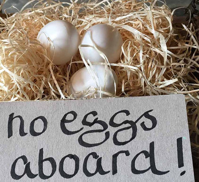 No Eggs Aboard