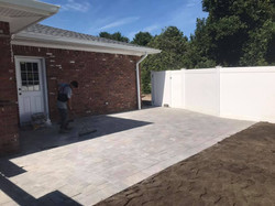 paver patio and walkway today in East Ha