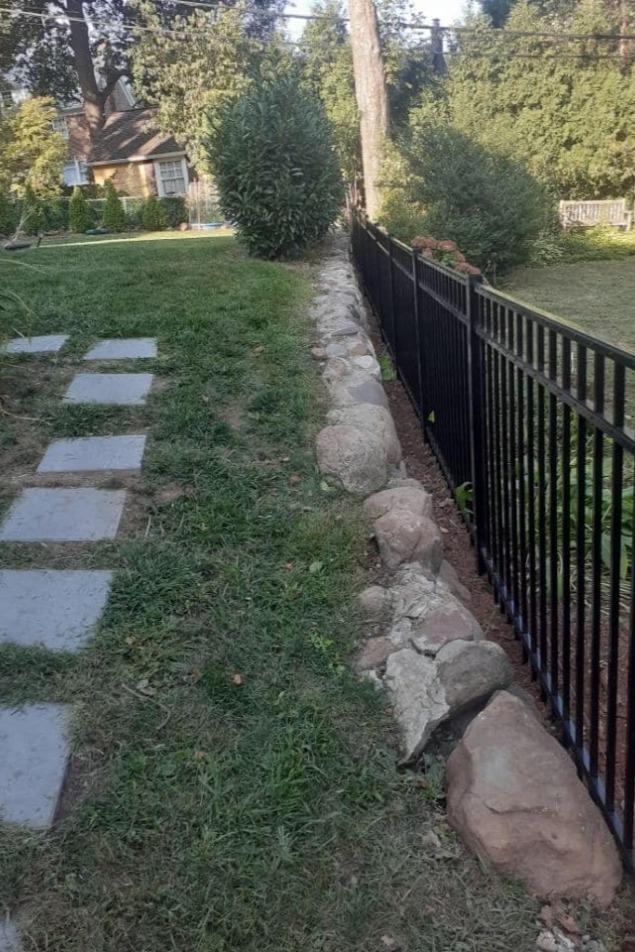 Nice Aluminum Fence