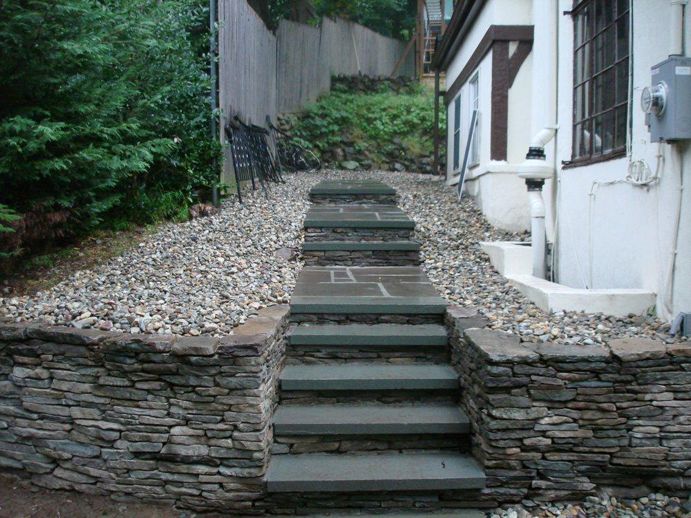 Custom Stone Steps