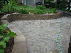 Patio and Walls