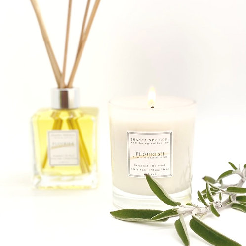 FLOURISH: Strengthening, uplifting & invigorating  | Home Candle