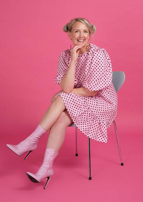Sally Beaton, Woman with Sparkle