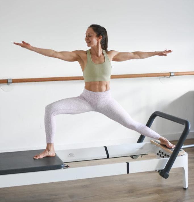 Pilates Equipment Class in the studio