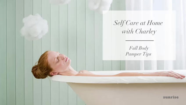 Top tips to pamper your body
