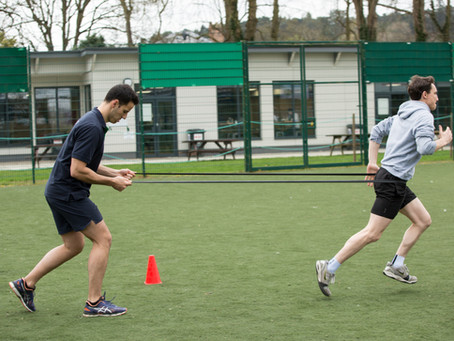 Personal training with a physio