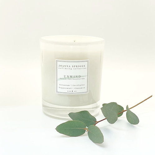 UNWIND: Calming, relaxing & grounding  | Home Candle