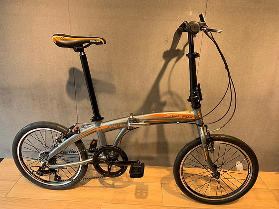 "SOLAR FD-800 V ALLOY FOLDING BIKE-20""-7 SPD 鋁合金V制摺車"