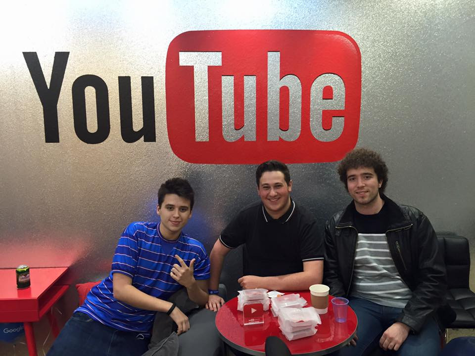 Shoot at YouTube Space London (2015)