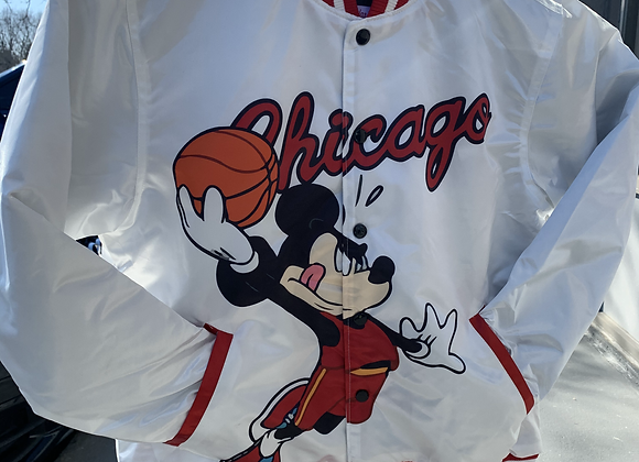 Chicago Mickey Mouse Bomber Jacket.