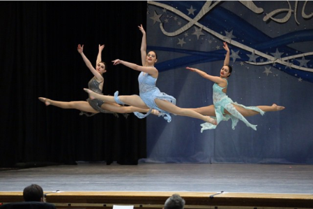 JMDS DANCERS AT A COMPETITION