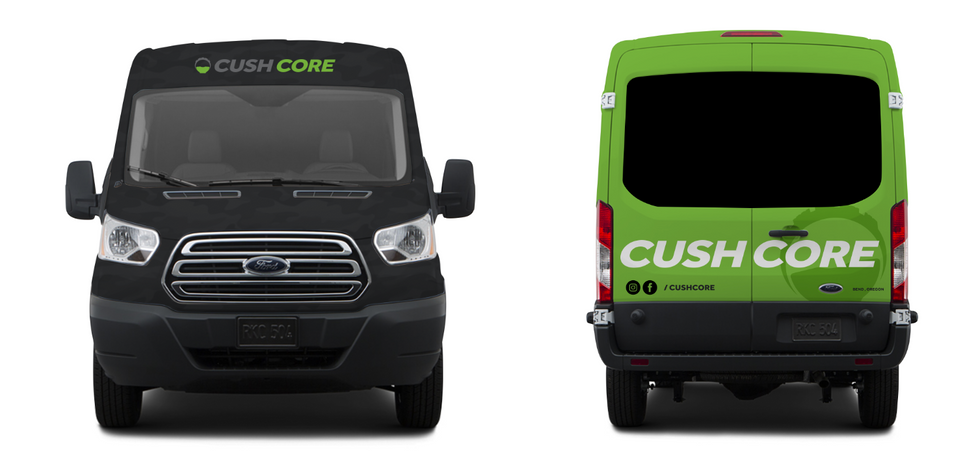 CushCore Front and Back