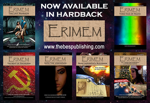 ERIMEM - First six hardbacks, US/EU OFFER