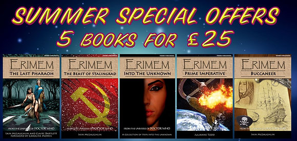 First five Erimem books - ebook