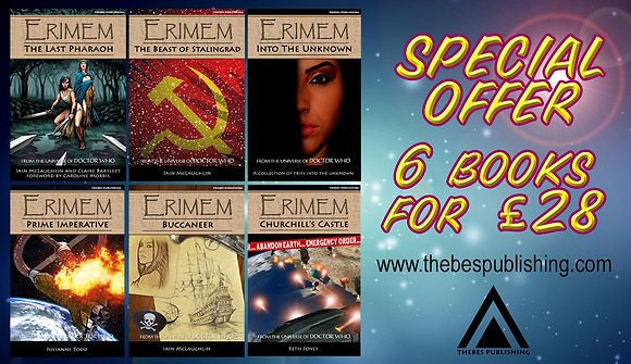 6 Erimem books for £28