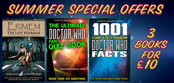 Doctor Who - 3 books for £10