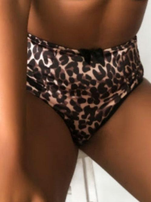 Charlotte High Waist Brief - Leopard