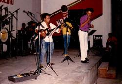 DGritos Priemeiro Festival da Musica em Salgueiro em 1988 Ricardo e Noroba