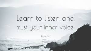 Trusting Your Inner Voice