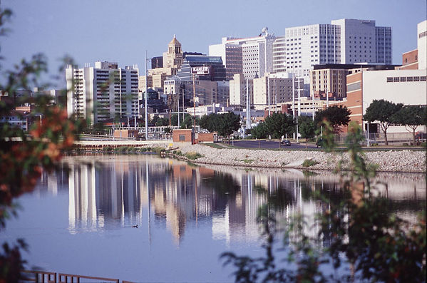 Rochester Minnesota Skyline view during the day.