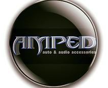 Amped Auto & Audio Accessories Logo