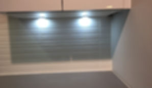 Fitted lights in Kitchen area