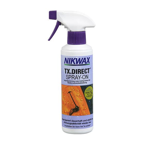 TX. Direct Spray ON