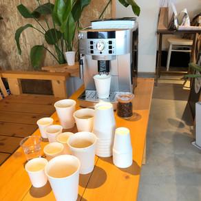 オリジナル焙煎コーヒー試飲会
