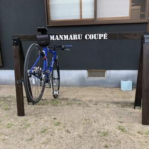 自転車スタンド完成