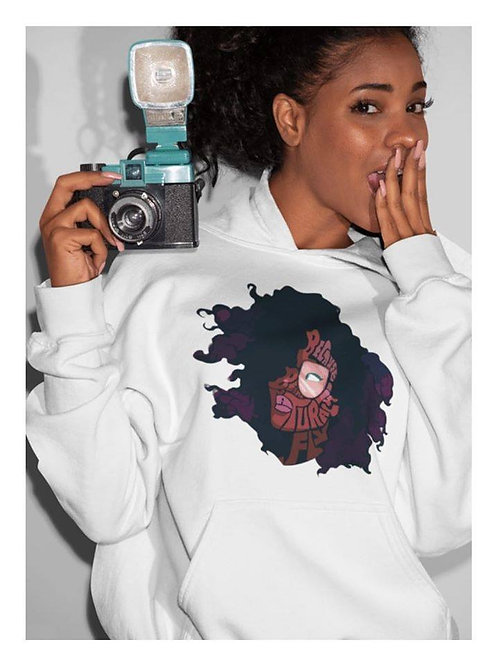 Because Being Natural Is Fly Sweatshirt
