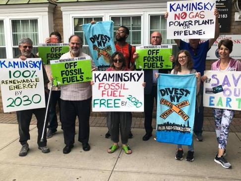 We're In A Climate Emergency, Kaminsky Needs More Urgency!
