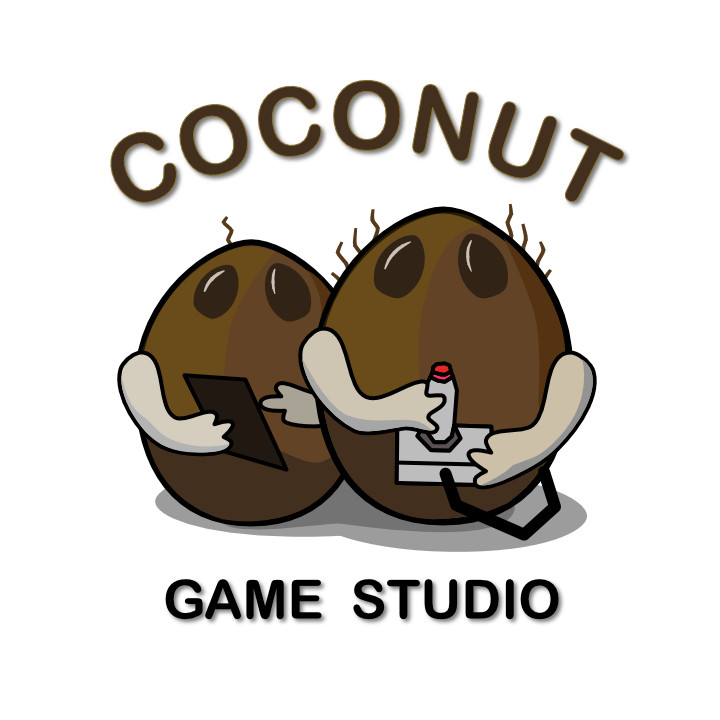 This is the new logo design for Coconut Game Studio