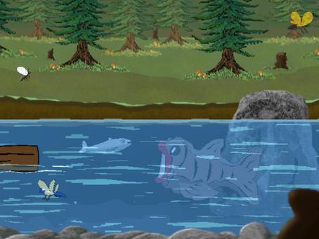 New in-game screen-shot of Eagles Bears n Fish