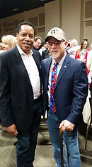 I  had the Honor of meet Larry Elder tod