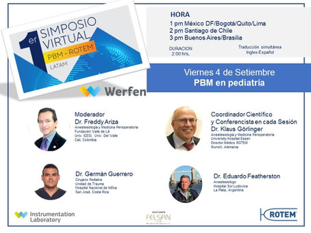 1st Symposium PBM ROTEM LATAM – Session 8 PBM in Pediatrics