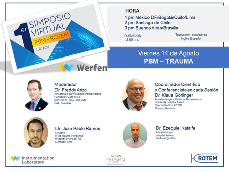 1st Symposium PBM ROTEM LATAM – Session 5 PBM in Trauma