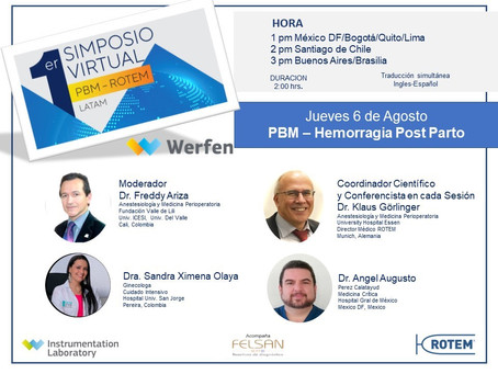 1st Virtual Symposium PBM-ROTEM LATAM - Fourth Session