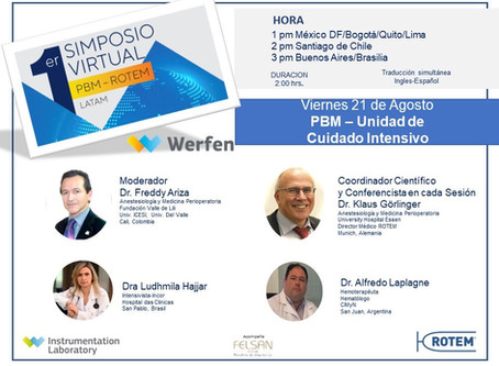 1st Symposium PBM ROTEM LATAM – Session 6 PBM in Intensive Care Unit