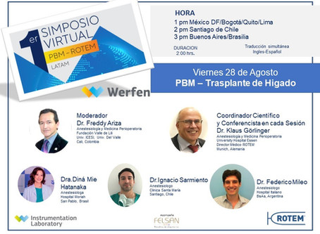 1st Symposium PBM ROTEM LATAM – Session 7 PBM in Liver Disease and Liver Transplantation