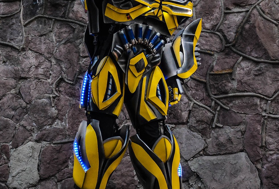 Bumblebee NEW robot costume