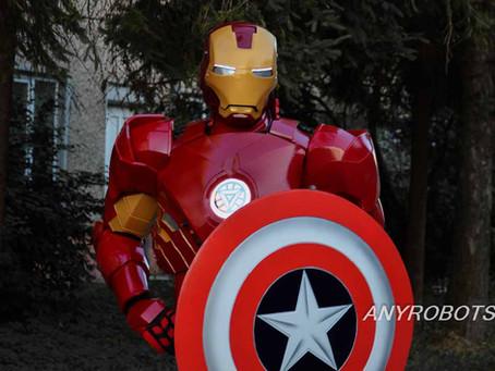 Стать IronMan за $2 тыс: в Украине создают уникальные костюмы трансформеров
