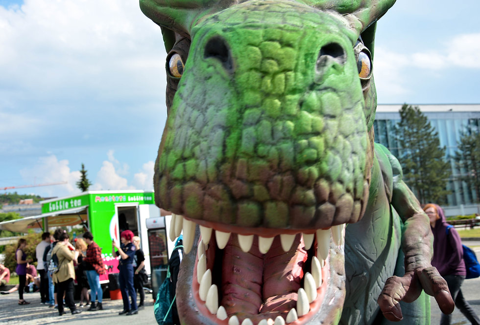 Awesome Tyrannosaur costume for circus & events