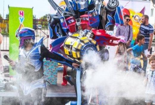 Дым пушка TURBO Bumblebee для шоу роботов трансформеров